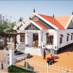 Mẫu Nhà Cấp 4 Đẹp 120m2 Tại Diễn Châu, Nghệ An