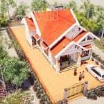 Mẫu Nhà Cấp 4 Đẹp 120m2 Tại Giao Thủy Nam Định