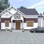 Mẫu Nhà Cấp 4 Đẹp 120m2 Tại Thái Thụy Thái Bình