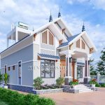 ###MauNhaCap4_Mẫu Nhà Cấp 4 Đẹp 123m2 Năm 2020 Tại Thanh Thủy Phú Thọ