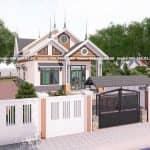 Mẫu Nhà Cấp 4 Đẹp Có 3 Phòng Ngủ Tiện Nghi Tại Yên Mỹ Hưng Yên