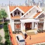 Mẫu Nhà Cấp 4 Đẹp 130m2 Tại Đông Hưng Thái Bình