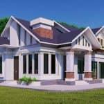 Mẫu Nhà Cấp 4 Đẹp 140 m2 Tại Bảo Khê Hưng Yên