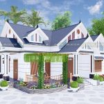Mẫu Nhà Cấp 4 Đẹp Có Lửng Vạn Người Mê Tại Đạ Huoai Lâm Đồng