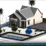 Mẫu Nhà Cấp 4 Đẹp 140m2 Ở Nam Trực Nam Định