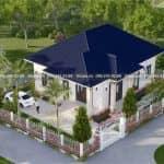 Mẫu Nhà Cấp 4 Đẹp 150 m2 Tại Phù Cừ Hưng Yên