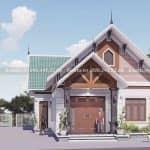 Mẫu Nhà Cấp 4 Đẹp 150 m2 Tại Sơn Tịnh Quảng Ngãi