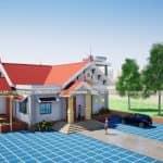 Mẫu Nhà Cấp 4 Mái Thái Đẹp 150 m2 Tại Phú Thọ