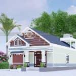 Mẫu Nhà Cấp 4 Đẹp 150 m2 Tại Đồng Hỷ Thái Nguyên