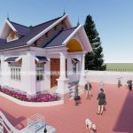 Mẫu Nhà Cấp 4 Đẹp 130m2 Tại Văn Lâm Hưng Yên