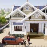 Mẫu Nhà Cấp 4 Đẹp 150m2 Tại Yên Sơn Tuyên Quang