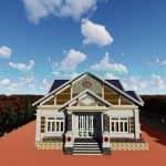 Mẫu Nhà Cấp 4 Đẹp 150m2 tại Bà Rịa Vũng Tàu