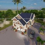 Mẫu Nhà Cấp 4 Đẹp 160m2 Tại Cư Jut Đắc Nông