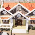 Mẫu Nhà Cấp 4 Đẹp 160m2 Tại Phú Lương, Thái Nguyên