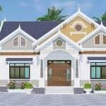 Mẫu Nhà Cấp 4 Đẹp 170 m2 Tại Thanh Hà Hải Dương