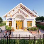Ấn Tượng Mẫu Nhà Cấp 4 Đẹp 170 m2 Tại Nghệ An