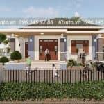 Mẫu Nhà Cấp 4 Đẹp 170 m2 Tại Văn Chấn Yên Bái