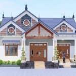 Mẫu Nhà Cấp 4 Đẹp 180 m2 Tại Đại Từ Thái Nguyên