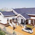 Mẫu Nhà Cấp 4 Đẹp 180m2 Tại Lâm Thao Phú Thọ