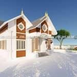 Mẫu Nhà Cấp 4 Đẹp 190 m2 tại Gia Bình Bắc Ninh