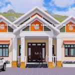 Mẫu Nhà Cấp 4 Đẹp 190m2 Tại Văn Chấn Phổ Yên