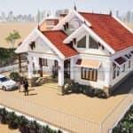 Mẫu Nhà Cấp 4 Đẹp 200 m2 Tại Hưng Yên