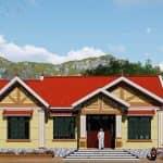 Mẫu Nhà Cấp 4 Đẹp 200m2 Tại Yên Viên, Gia Lâm
