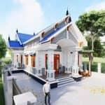Mẫu Nhà Cấp 4 Đẹp 4 Phòng Ngủ Tiện Nghi Tại Hà Giang