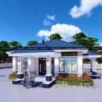 Mẫu Nhà Cấp 4 Đẹp Bắt Mắt Người Nhìn Tại Tánh Linh Bình Thuận