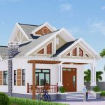 Mẫu Nhà Cấp 4 Đẹp Có Gác Lửng 150 m2 Tại Quảng Yên Quảng Ninh