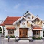 Mẫu Nhà Cấp 4 Đẹp Giá Rẻ Với Diện Tích 140m2 Tại Giao Thủy Nam Định
