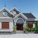 Mẫu Nhà Cấp 4 Đẹp Hiện Đại Tại Sóc Sơn Hà Nội