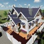Mẫu Nhà Cấp 4 Đẹp 150 m2 Tại Khoái Châu Hưng Yên