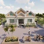 Mẫu Nhà Cấp 4 Đẹp Mái Thái Tại Gia Bình Bắc Ninh