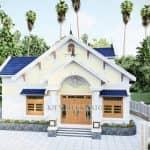 Mẫu Nhà Cấp 4 Đẹp Năm 2020 Tại Lạng Giang Bắc Giang