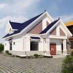 Mẫu Nhà Cấp 4 Đẹp Năm 2020 Tại Phổ Yên Thái Nguyên