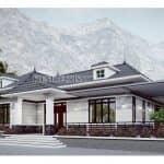 Mẫu Nhà Cấp 4 Đẹp Năm 2020 Tại Thanh Ba Phú Thọ