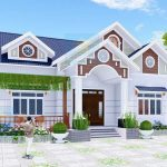 Mẫu Nhà Cấp 4 Đẹp 150 m2 Tỏa Nắng Tại Nam Định