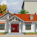 Mẫu Nhà Cấp 4 Đẹp 190m2 Tại Ba Vì, Hà Nội