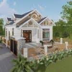 Mẫu Nhà Cấp 4 Đẹp 170m2 Tại Sóc Sơn Hà Nội