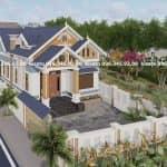 Mẫu Nhà Cấp 4 Đẹp 130m2 Tại Ninh Giang Hải Dương