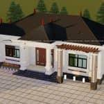 Mẫu Nhà Cấp 4 Đẹp Tại Bảo Yên Lào Cai