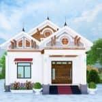 Mẫu Nhà Cấp 4 Đẹp 130m2 Tại Xuân Trường Nam Định