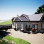 Ngất Ngây Với Mẫu Nhà Cấp 4 Đẹp 210m2 Tại Hải Hậu Nam Định