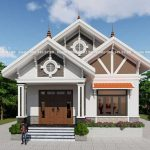 Mẫu Nhà Cấp 4 Đẹp 170m2 Tại Nghi Lộc Nghệ An