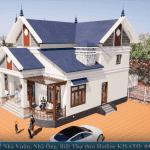 Mẫu Nhà Cấp 4 Đẹp 160m2 Tại Ninh Phúc Ninh Bình