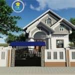 Mẫu Nhà Cấp 4 Đẹp Tại Phú Cường Hưng Yên