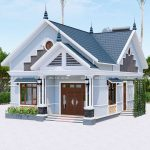 Mẫu Nhà Cấp 4 Đẹp 110m2 Tại Lâm Thao Phú Thọ