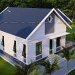 Mẫu Nhà Cấp 4 Đẹp 150m2 Tại Như Xuân Thanh Hóa