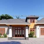 Mẫu Nhà Cấp 4 Đẹp Tại Văn Yên Yên Bái